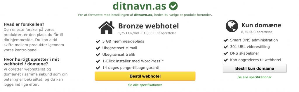 3 Vælg det rigtig webhotel til din blog