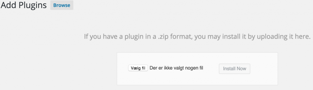 Hent og installere Plugin på WordPress blog